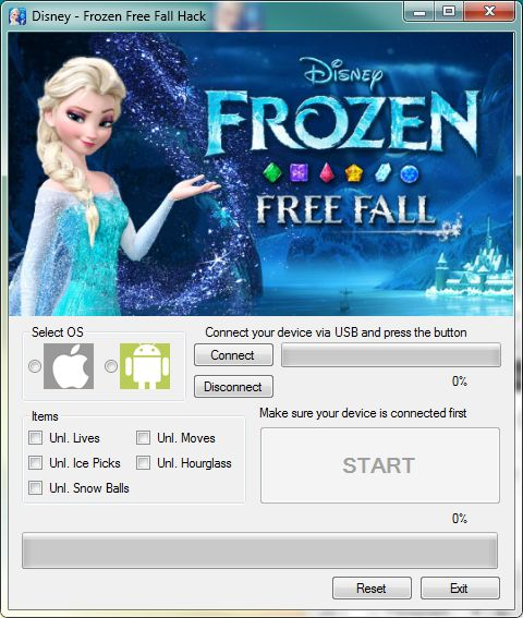 Frozen Free Fall Hack - http://risehack.com/frozen-free-fall-hack/