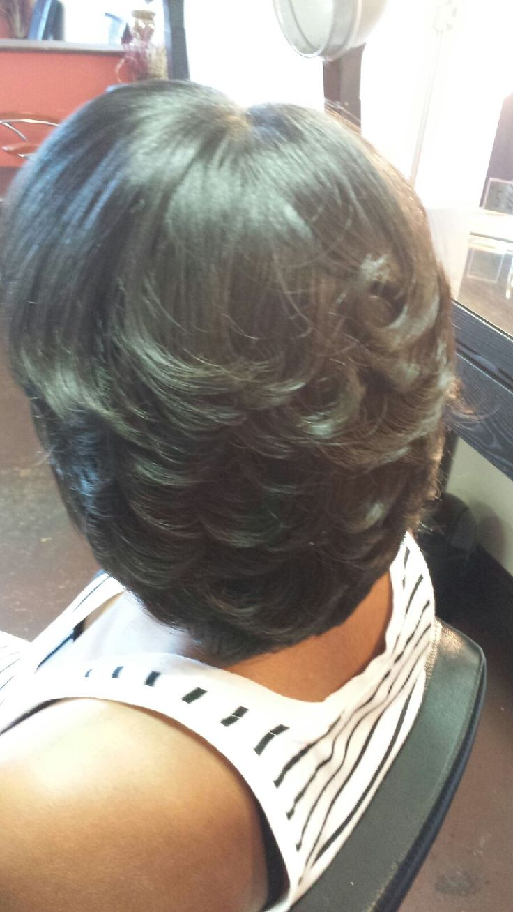 Pin by A Touch of Class Salon on Hair | Feathered ...
