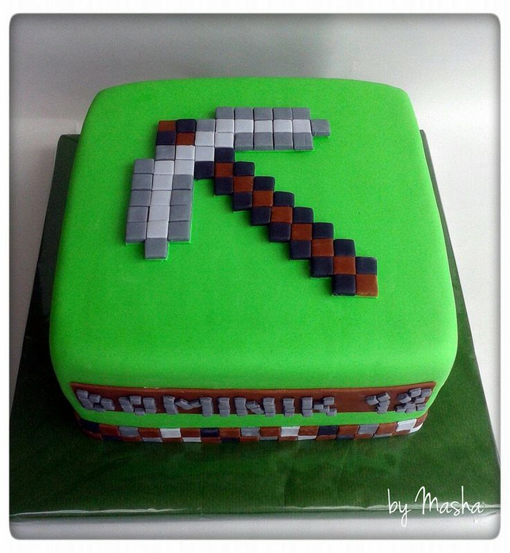 Cake Ideas Minecraft : 1000+ images about Cakes on Pinterest Minion cakes ...
