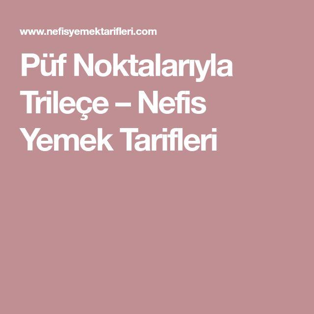 Püf Noktalarıyla Trileçe – Nefis Yemek Tarifleri