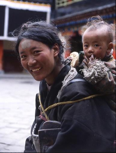 women are beautiful - Tibetan People