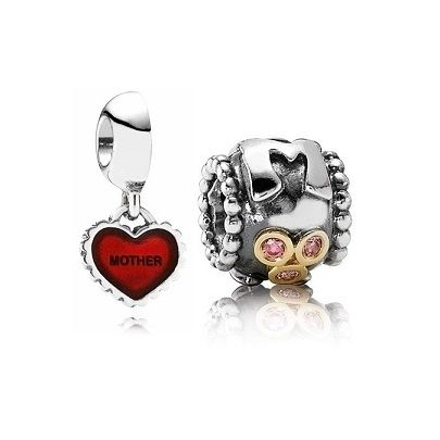 Pandora Black Friday 2015 For Mum Charm Set Clearance Deals PDR780785CZ