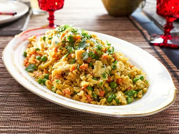 Get Cauliflower Fried Rice Recipe from Food Network