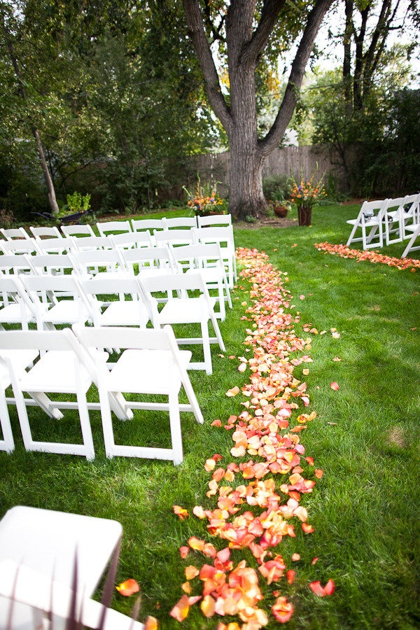 Ideas For Simple Backyard Weddings | Mystical Designs and Tags