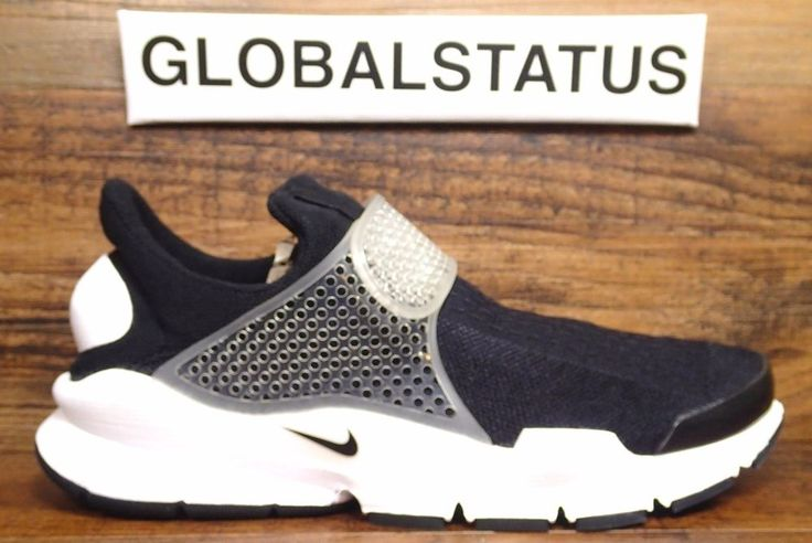 WOMENS NIKE ID SOCK DART BLACK WHITE RETRO STRAPPED SHOES 880958 991 SZ 9 | Clothing, Shoes & Accessories, Women's Shoes, Athletic | eBay!