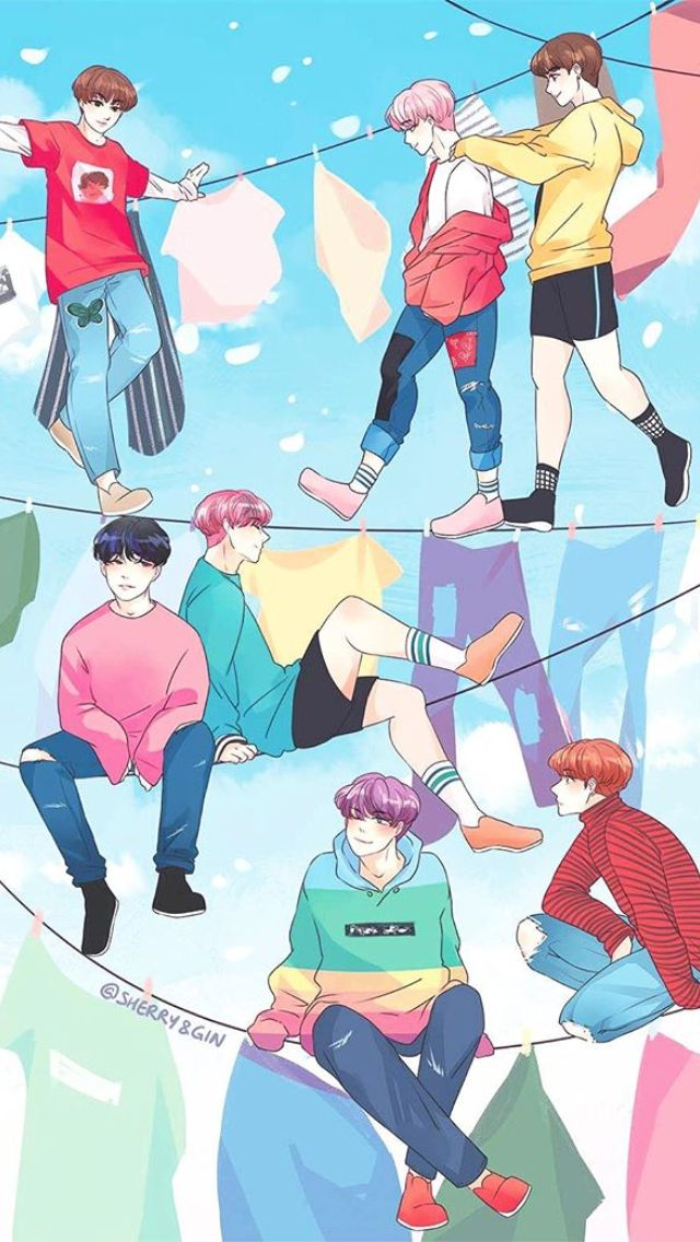 Cute Squishies Wallpaper Pin By Baepseokie On Bts 방탄소년단 Pinterest Bts Fanart