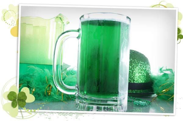 How to make St Patrick's Day green beer