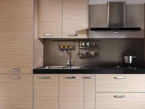 Simple Design Melamine Kitchen Cabinet For Sale