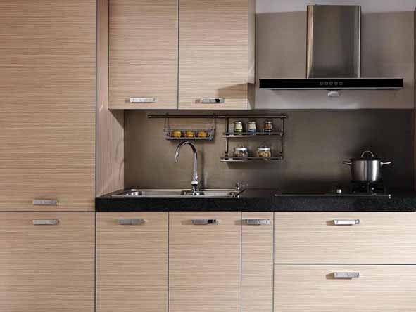 Simple Design Melamine Kitchen Cabinet For Sale