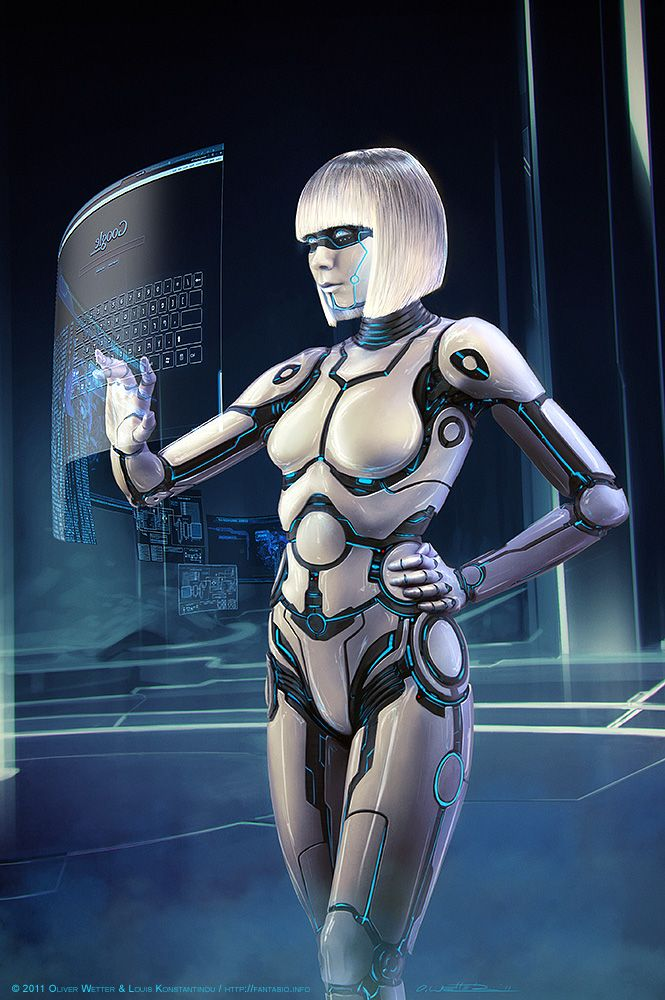Android Legacy by Oliver Wetter. Inspired by #TRON.
