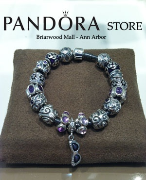 New charms at the Pandora Store at Briarwood Mall in Ann Arbor!