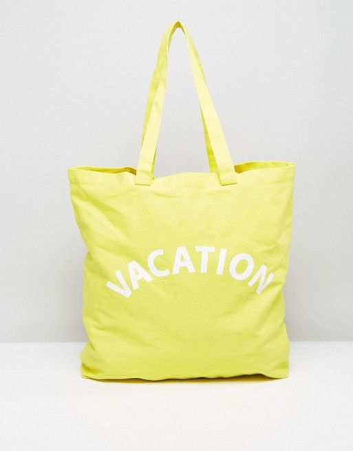Whistles Vacation Canvas Shopper Bag