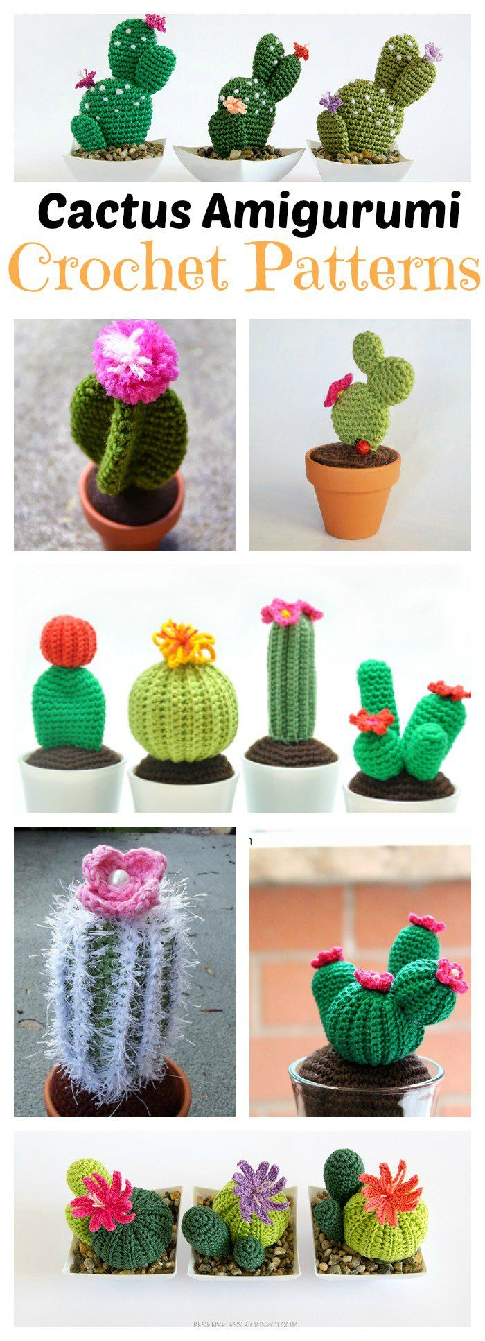 10+ Desert Cactus Amigurumi Crochet Patterns – Look Surprisingly Real
