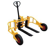 All Terrain Pallet Jack $767 -  Ideal for #landscaping work