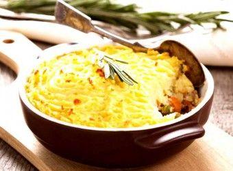 Λαχανικά με πουρέ στο φούρνο | InfoKids