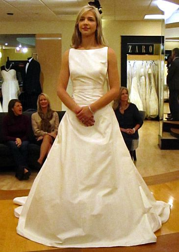 Love The High Neck Line You Dont See This Much On Wedding Dresses Season 4 Featured Part Say Yes To Dress Atlanta TLC