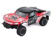 ECX Torment 1/10 RTR 2WD Electric Short Course Truck (Red/Silver) w/STX2 2.4GHz Radio, Battery & Charger