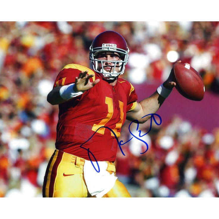 """Matt Leinart USC Trojans Fanatics Authentic Autographed 8"""" x 10"""" Throwing Stance Photograph - $14.24"""