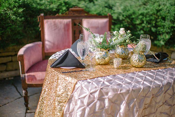 金ヴィンテージグラムの結婚式|ジェニファー·ミラー写真|グラマー&グレイス