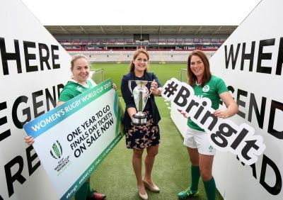 Tickets on sale for Women's Rugby World Cup 2017 semis and final