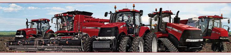 Caseih tractors and equipment line up wallpaper border for International harvester decor