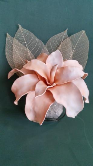 centro flores en goma eva  goma eva termoformada totalmente artesano