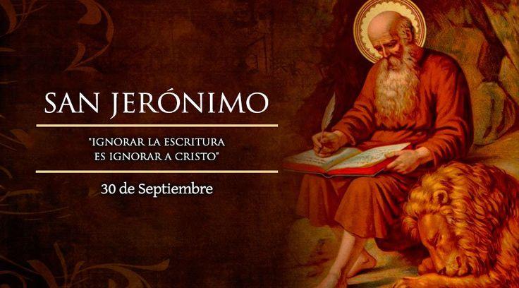 30 de Septiembre – San Jerónimo –  Patrono de la Ciudad de Santa Fe http://www.yoespiritual.com/efemerides/30-de-septiembre-san-jeronimo-patrono-de-la-ciudad-de-santa-fe.html