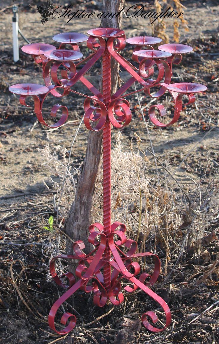 Handcrafted candelabra