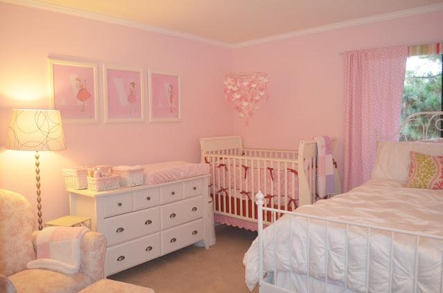 Girl Nursery/ Guest Room