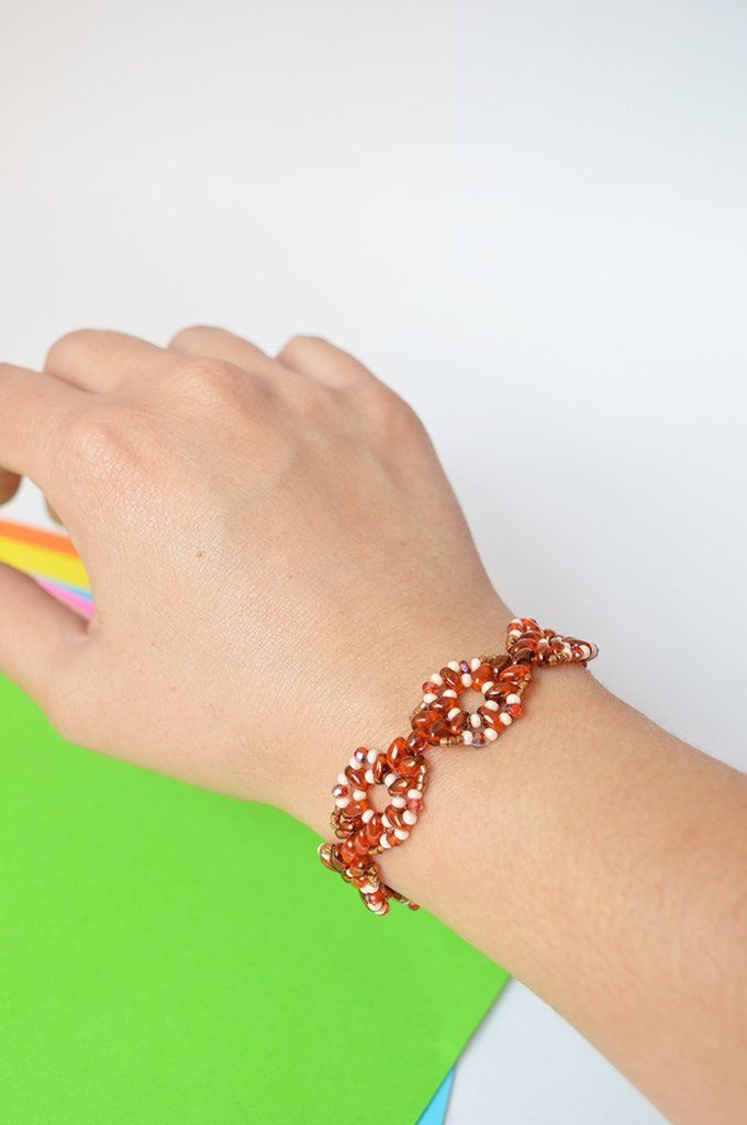 Bracelet sunset - Artesano Currucutú