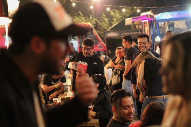 #SomosRockFST #FoodTrucks 21.05.16 @ Carpa Astros, CDMX.