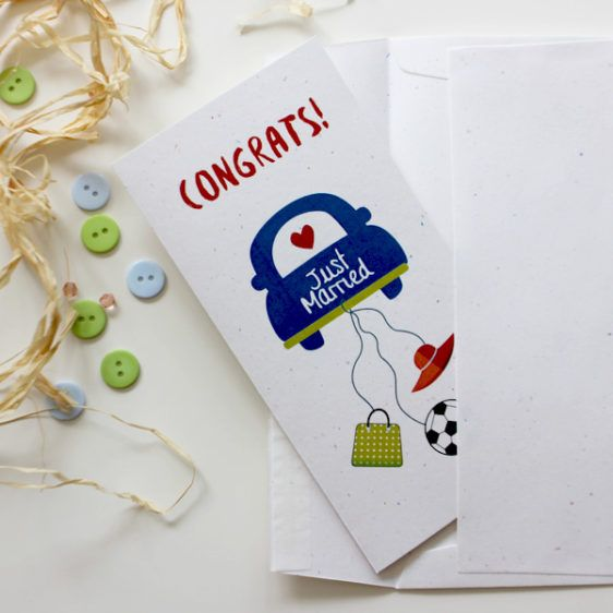 Wedding congratulations card for a football and a shopping lover  | Wedding Card  | Varró Joanna Design | Handmade Wedding | Weddings | Wedding Ideas | DIY | Graphic Design | Inspiration | Graphic Designer