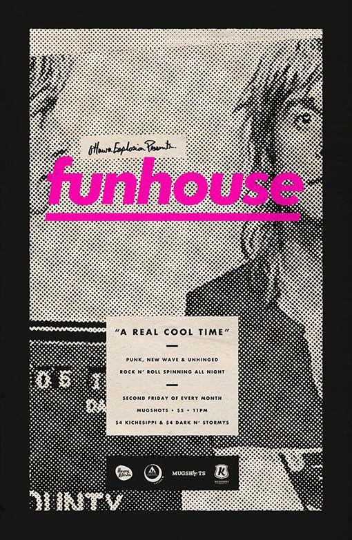 Design Work Life » Michael George Haddad: Funhouse Posters