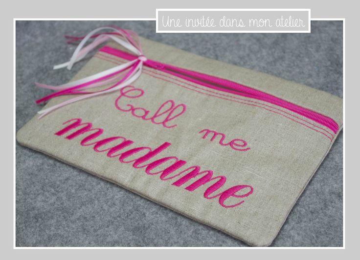 trousse-call me madame-fuschia                                                                                                                                                                                 Plus