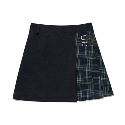 faf075723 Check half skirt ha [navy] in 2019 | Skirts | Women's fashion ...