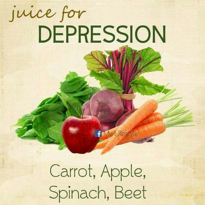 Homemade Juice Therapy: Depression