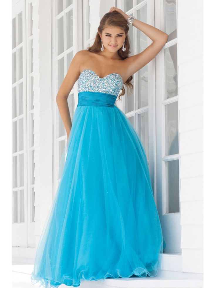 17 Best ideas about Baby Blue Prom Dresses on Pinterest | Baby ...