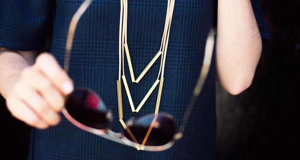Nude Necklace by Seattle's Iacoli & McAllister via Of a Kind
