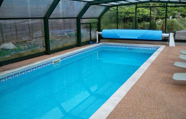 Современный Свежий Nuance бассейна дома, что имеет коричневый пола может быть декор с Минималистский Бассейн, может добавить красоты внутри Современный дом