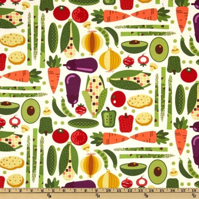85 Best Food Themed Fabric Savory Images On Pinterest