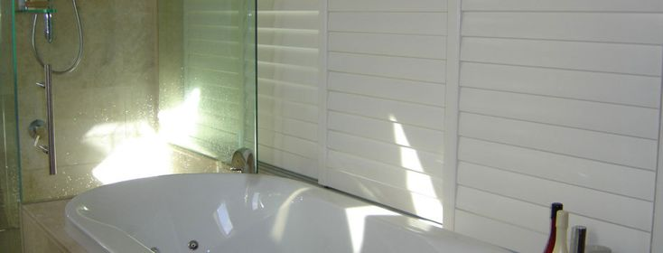If you're worried about your shutters warping. Try our Woodbury shutters, developed for the moisture zones of the house.