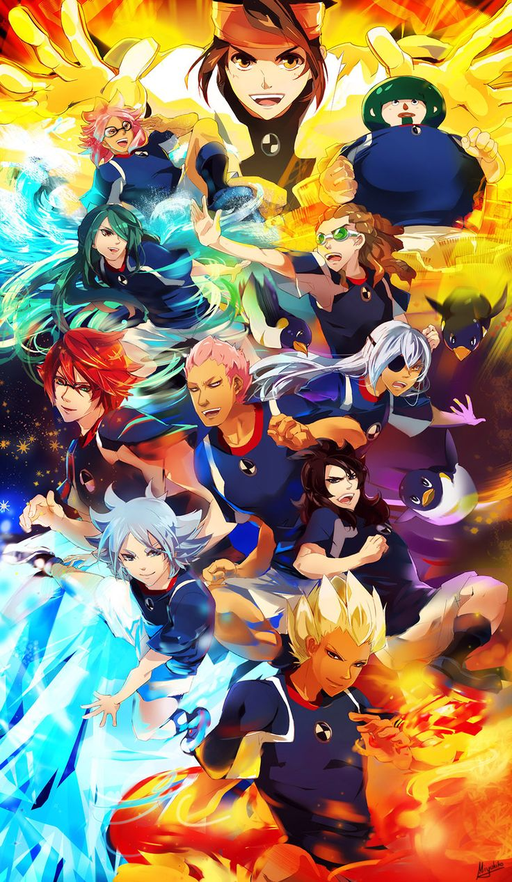 Inazuma Legend Japan by Miyukiko.deviantart.com on @DeviantArt
