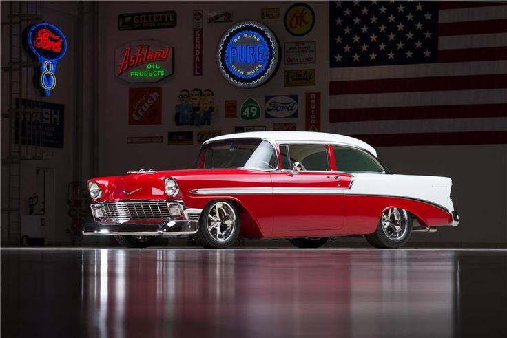 1055 best images about 55 56 57 chevy on pinterest for Garage bel auto 38400