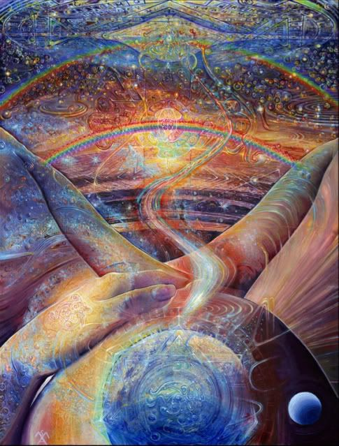 """""""All matter is merely energy condensed to a slow vibration, that we are all one Consciousness experiencing itself subjectively, there is no such thing as death, life is only a dream, and we are the imagination of ourselves."""" Bill Hicks:"""