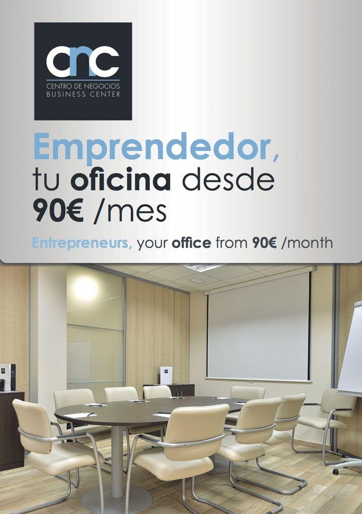 Desde 90€ tienes tu oficina