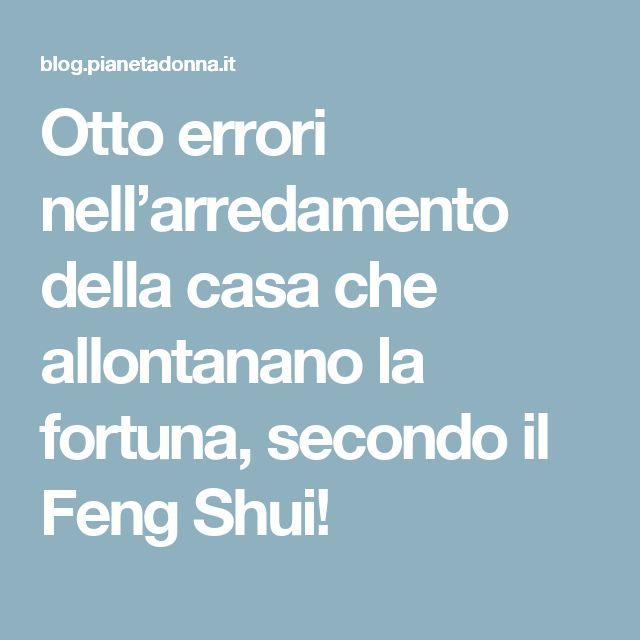 Otto errori nell'arredamento della casa che allontanano la fortuna, secondo il Feng Shui!