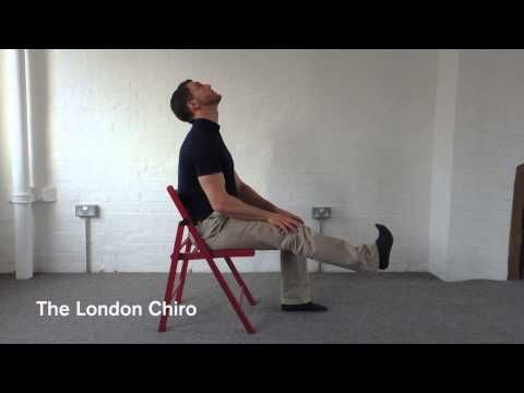 sciatic nerve flossing stretches for the nerves in the back of the leg - Bing video