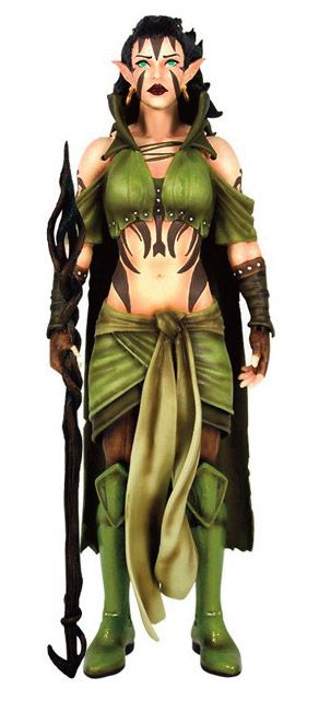 Magic the Gathering Legacy Collection Action Figure Series 1 Nissa Revane 15 cm