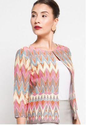 Blazer Batik Terbaru