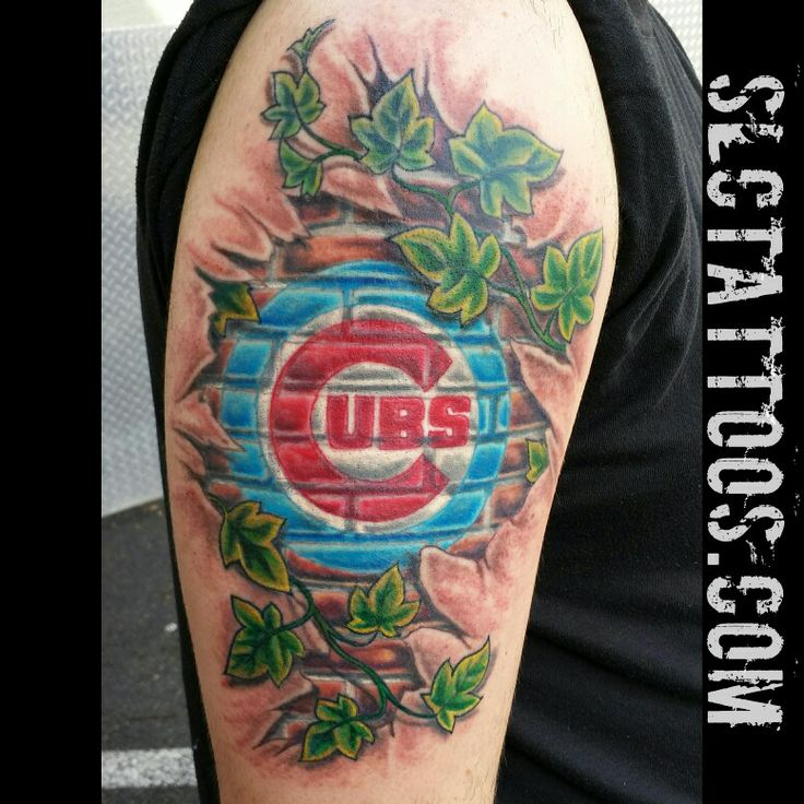 1000 images about chicago cubs tattoos on pinterest utah fan tattoo and main street. Black Bedroom Furniture Sets. Home Design Ideas